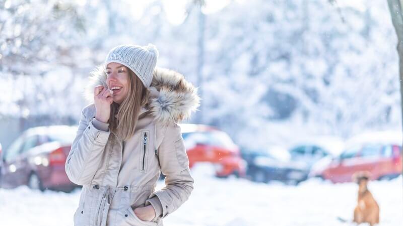 las causas de unos labios secos y agrietados