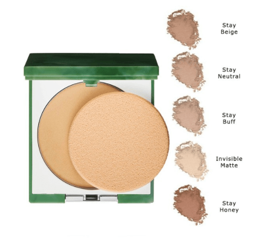 clinique stay matte polvos compactos 101 invisible matte