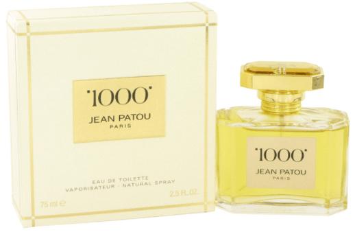 perfume original jean patou 1000