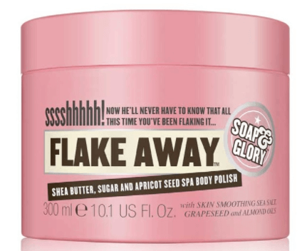 soap glory exfoliante corporal flake away